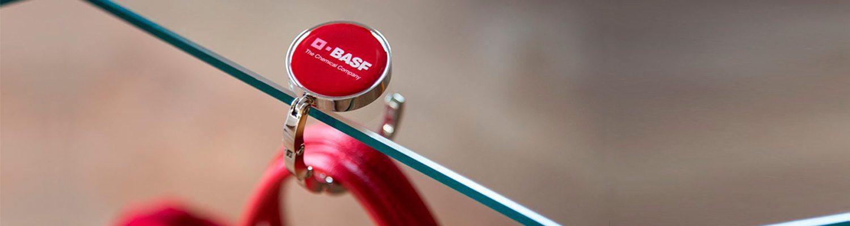 Handtasdrager BASF