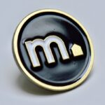 Pin Email 2D M Vastgoed Gold Heule
