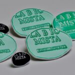 Pin Email 2D witte afwerking La Bio Mista