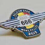 Pin Zamac Mons Rallye 666 Miles
